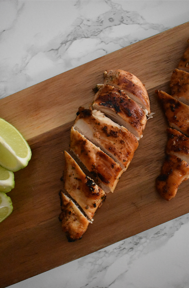 Honey Lime Grilled Chicken is the definition of an easy, healthy summer meal on the grill that flavorful and fast.