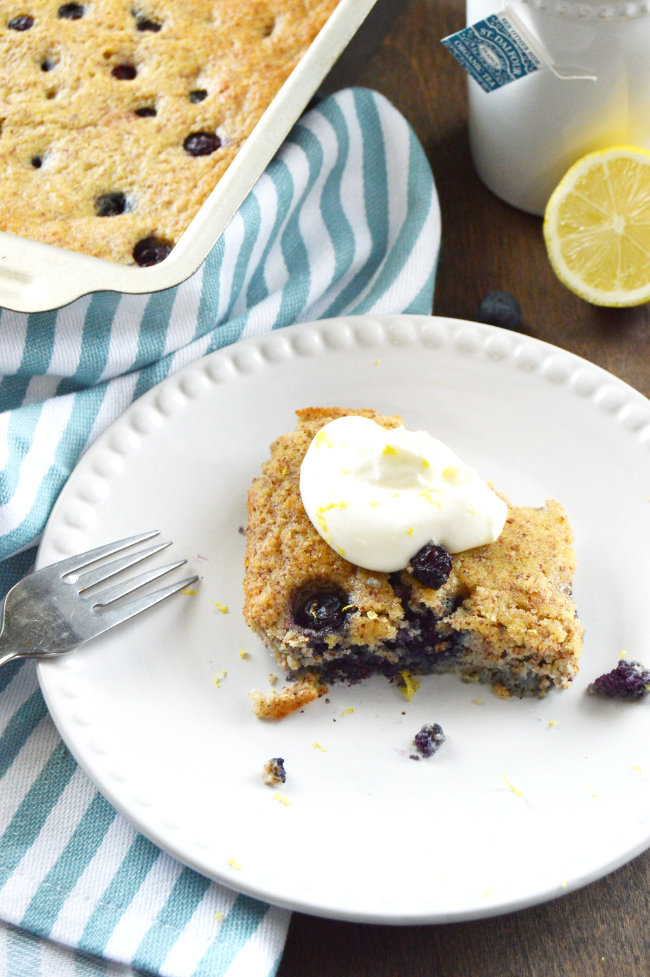 There's nothing better than a fresh, gluten-free blueberry cobbler to showcase gorgeous seasonal fruit!