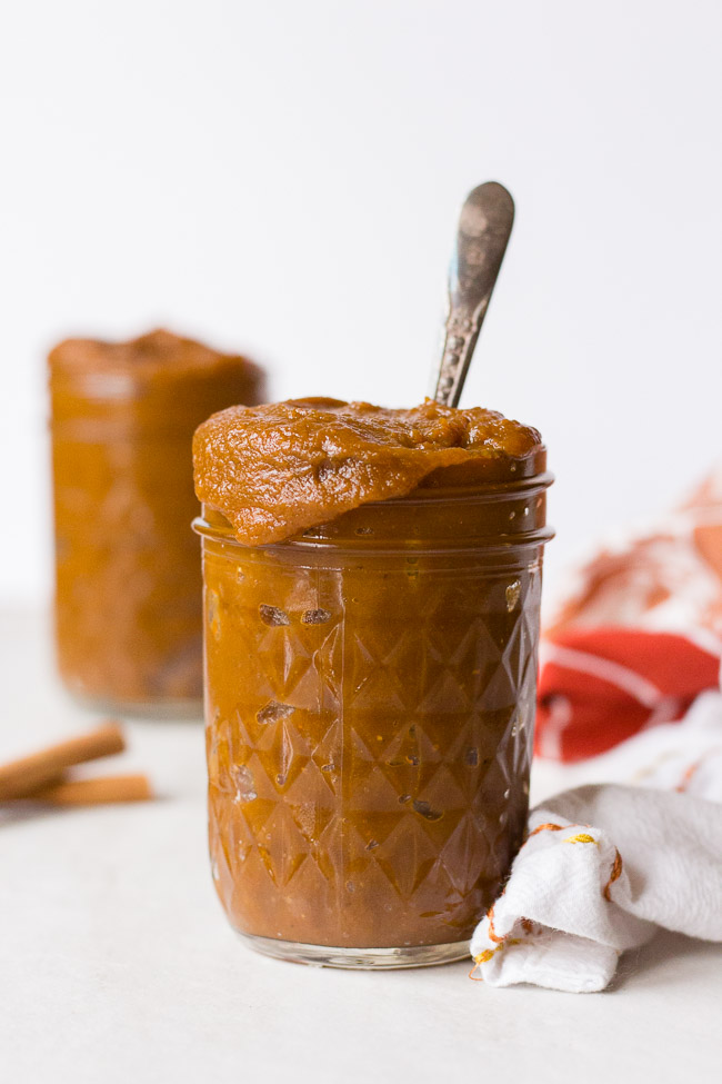 If you want a different way to enjoy pumpkin try this recipe for pumpkin butter. It's great to spread on toast or a muffin, or you can try it swirled into your yogurt or oatmeal.
