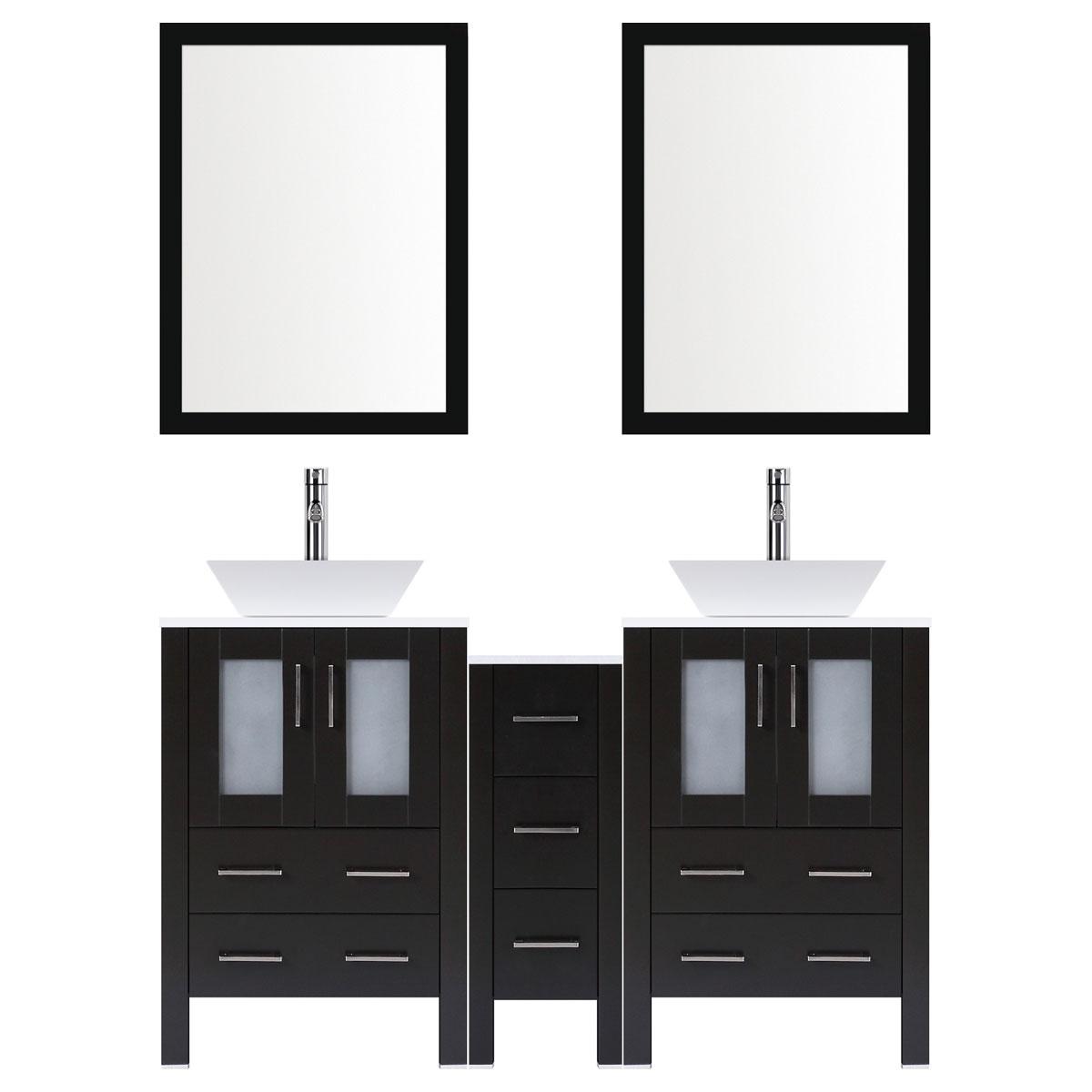 Modern Bathroom Vanities - RTA Cabinet Store