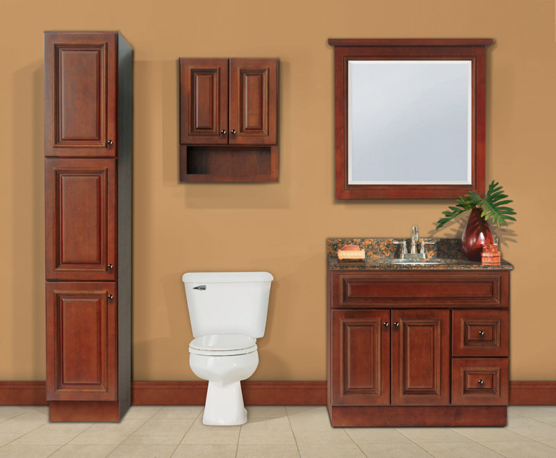 wooden bathroom sink cabinets.  Brandywine Bathroom Vanities RTA Cabinet Store