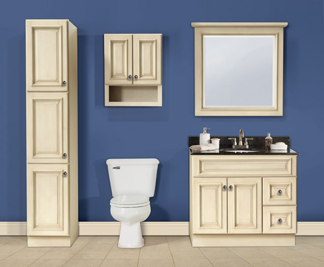 Tuscany Maple Bathroom Vanities