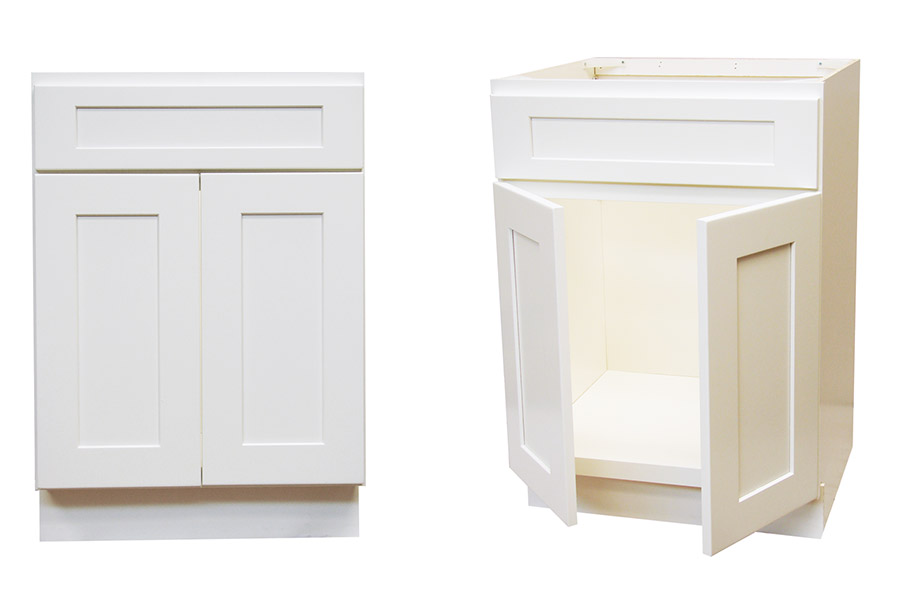 White Shaker Bathroom Vanity. Elegant White Shaker 24 Vanity Model Sw V2421