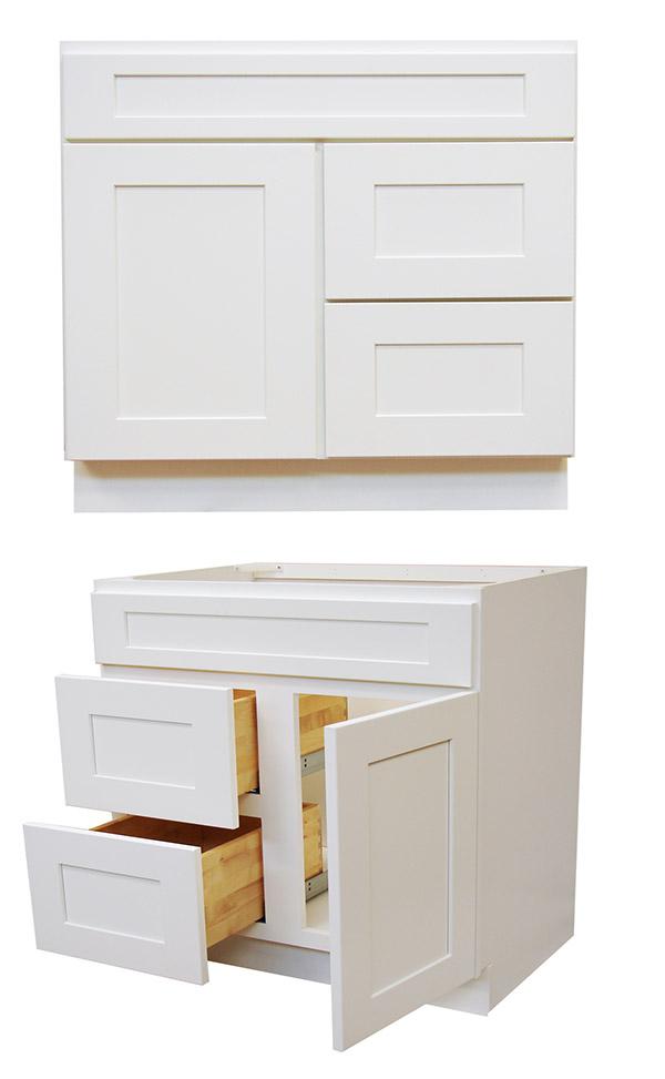elegant bathroom rta vanities shaker cabinets vanity sw store cabinet white