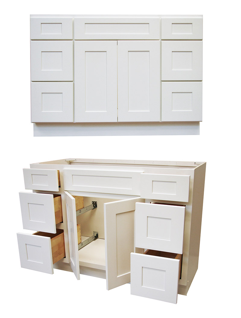 white shaker bathroom vanity. White Shaker Bathroom Vanity U