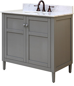 Keystone Grey Bathroom Vanities