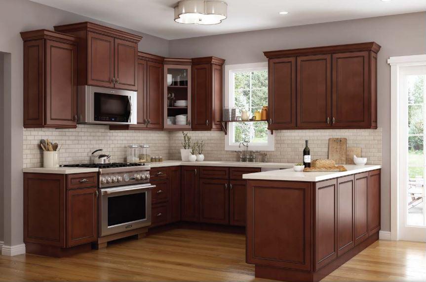1f2819aff4eb Cambridge Chocolate Kitchen Cabinets | RTA Cabinet Store