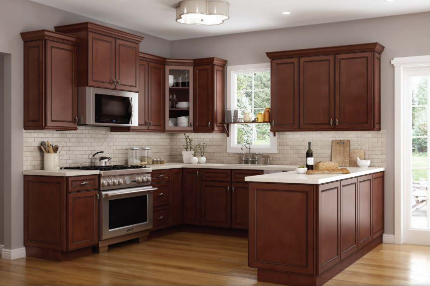 Cambridge Chocolate Kitchen Cabinets