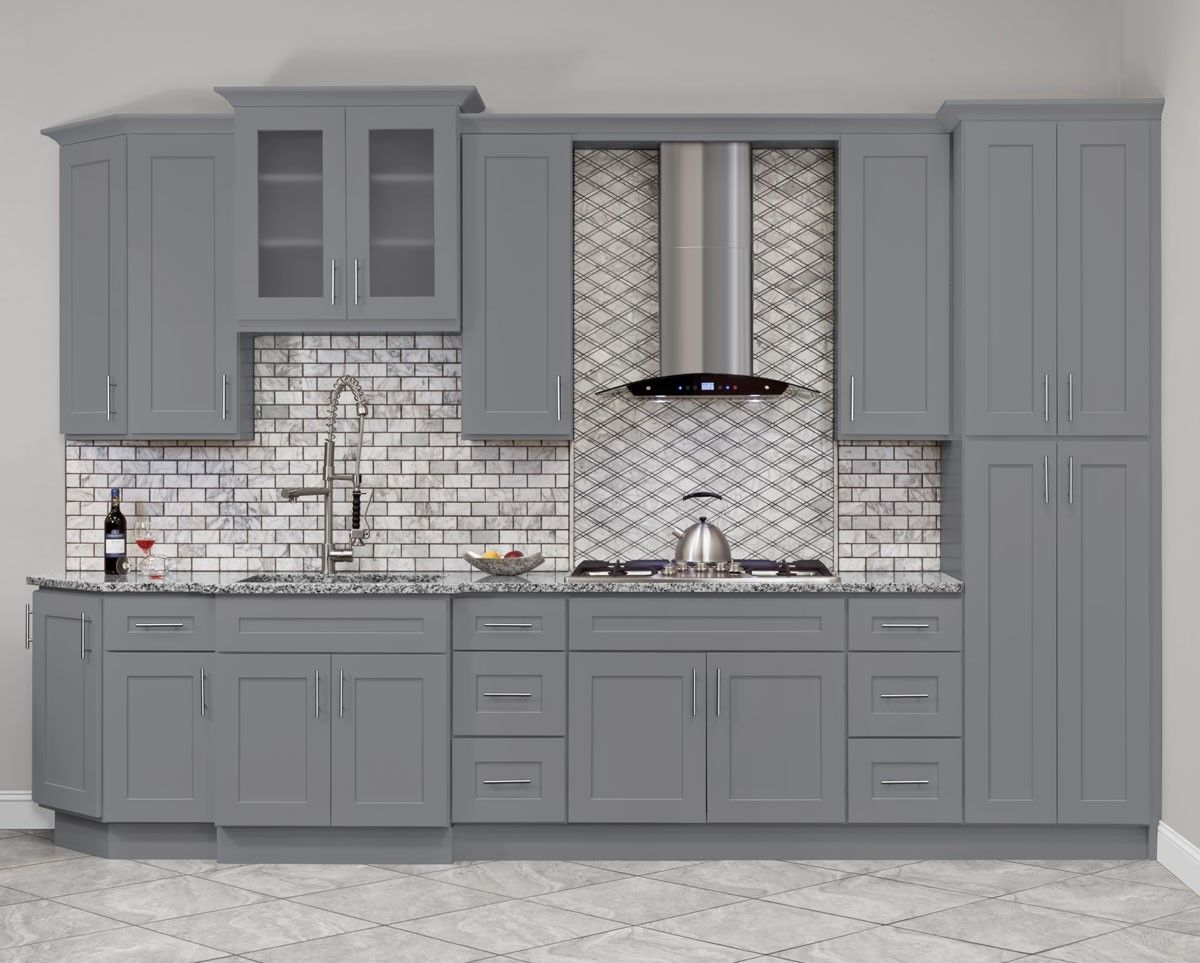 Hartford Grey Kitchen Cabinets