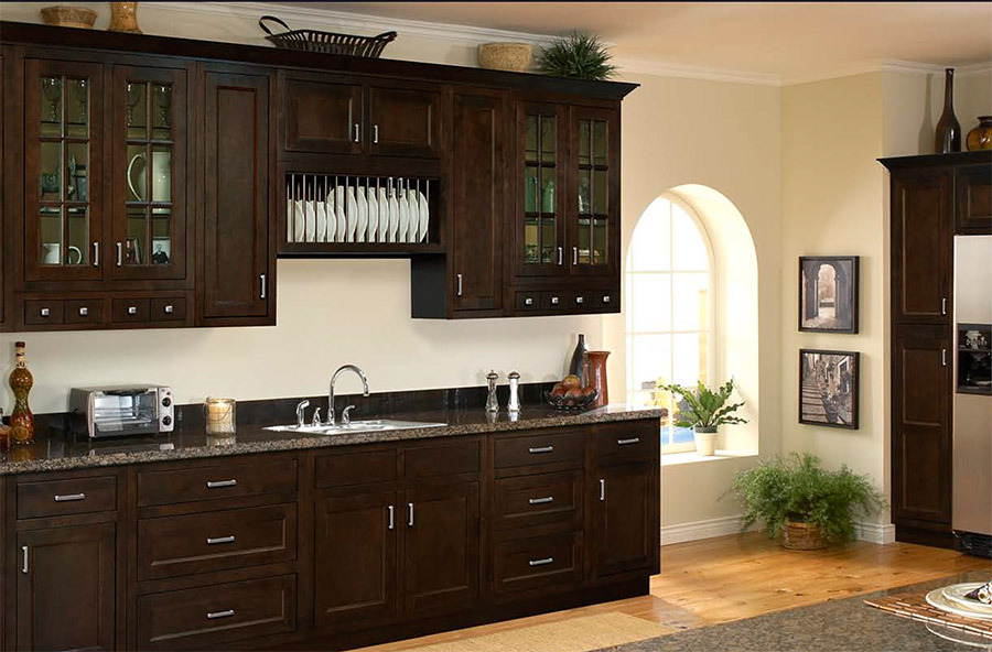 Flooring Color And Kitchen Cabinet
