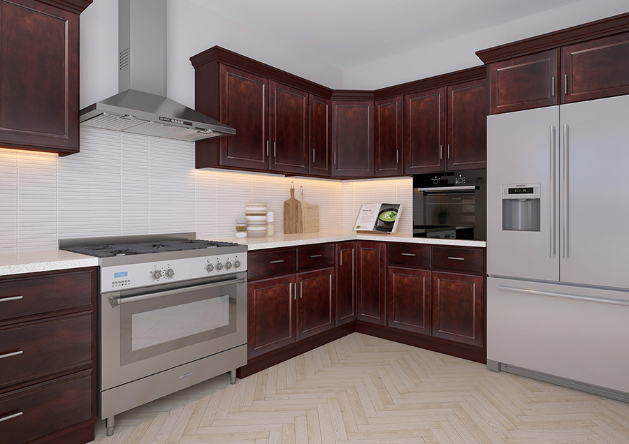 Whitney Espresso Kitchen Cabinets