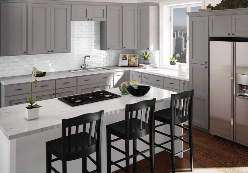 Imperial Grey Kitchen Cabinets