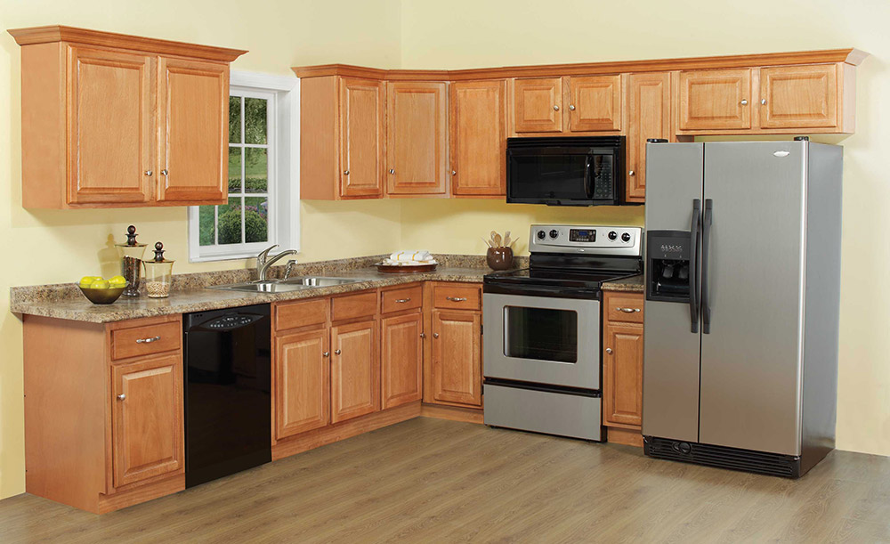 Beautiful Regal Oak Kitchen Cabinets