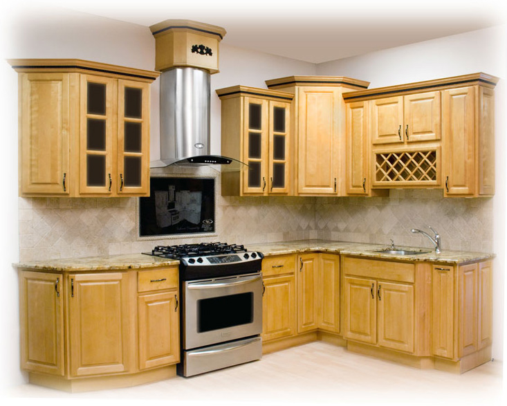 Honey Maple Kitchen Cabinets Rta Cabinet Store