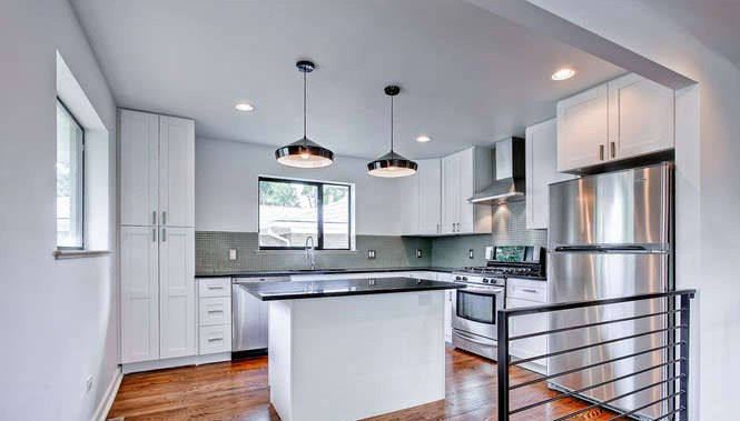 Modern White Shaker Kitchen white shaker cabinets: the hottest kitchen design trend | rta