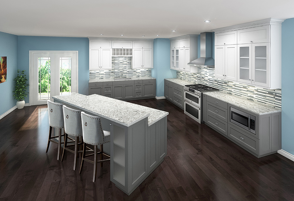 Whistler White Kitchen Cabinets