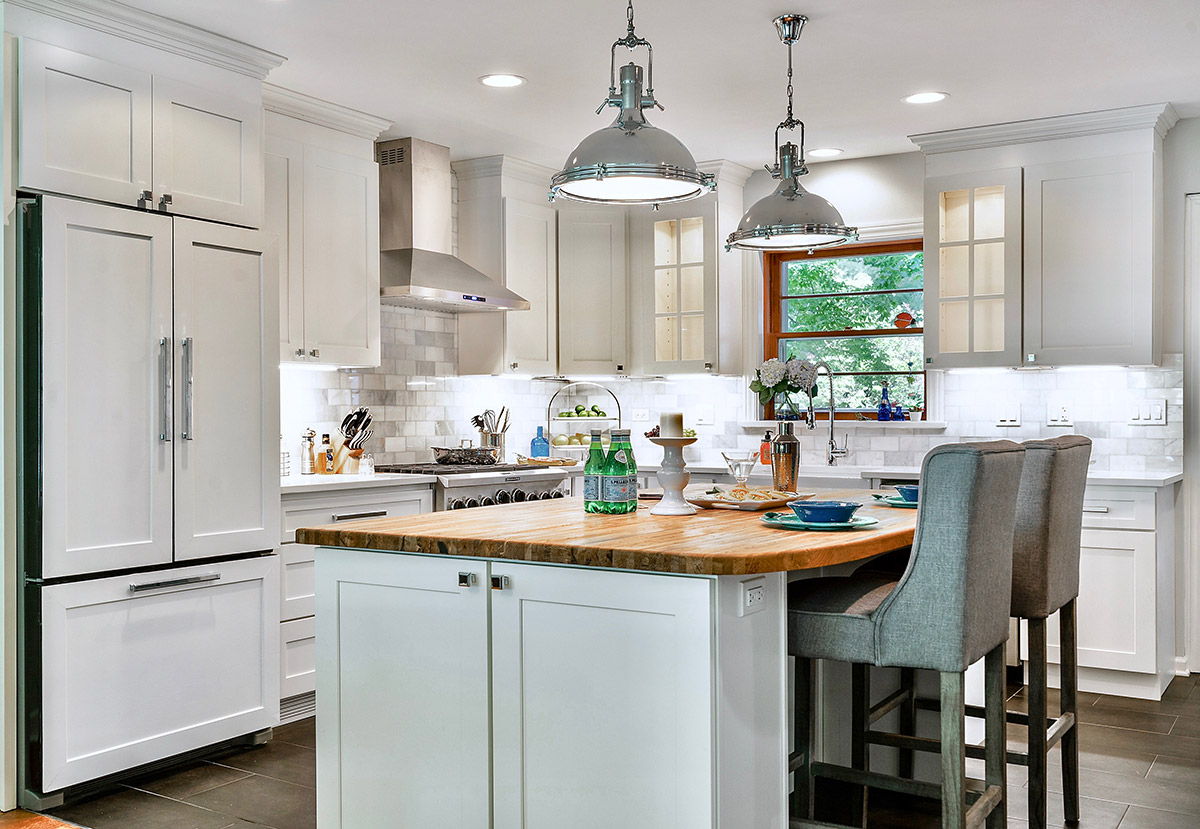 Traditional White Shaker Kitchen Cabinets | RTA Cabinet Store
