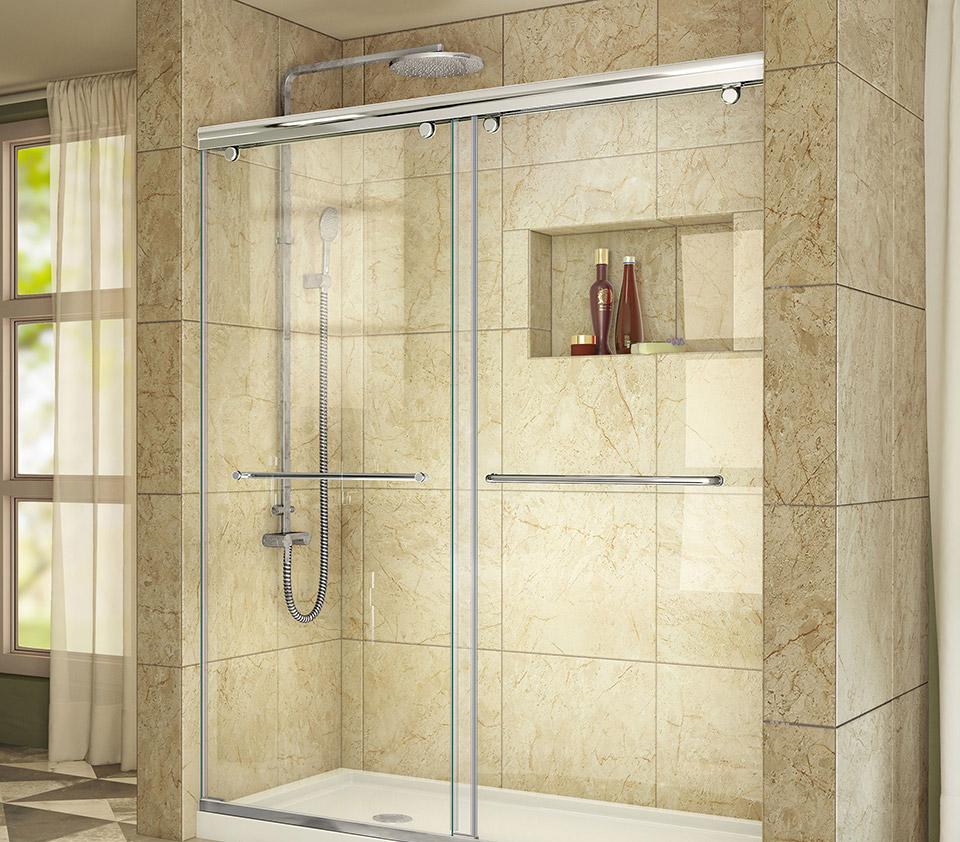 DreamLine Charisma Sliding Shower Door 56 - 60 in. W x 76 in. H ...
