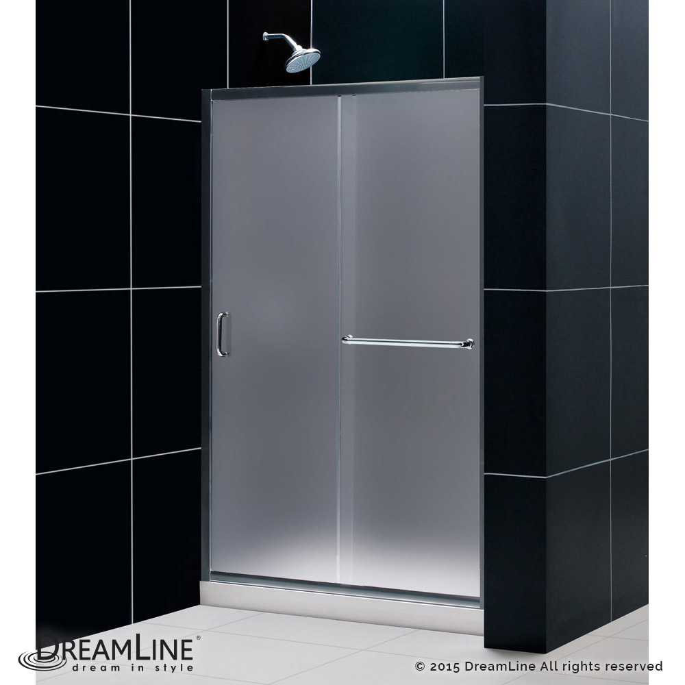 Dreamline Infinity Z Frameless Sliding Shower Door 36 In By 48 In