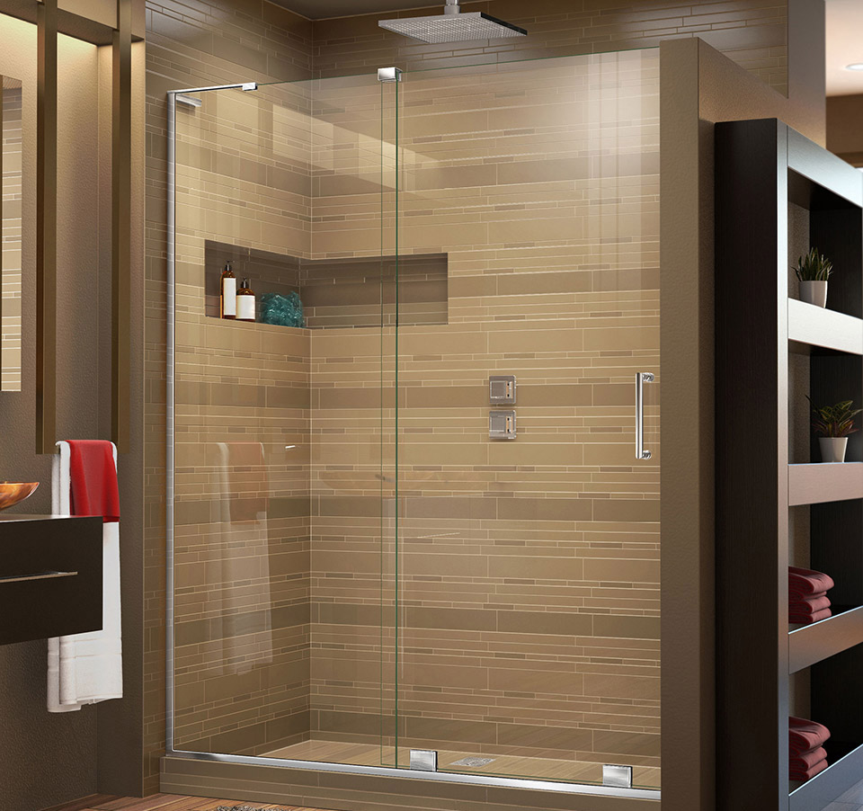 Dreamline Mirage X 44 48 In W X 72 In H Sliding Shower Door Shdr