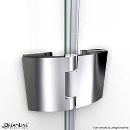 Dreamline Aqua 45 1 2 To 45 7 8 In W X 72 In H Hinged