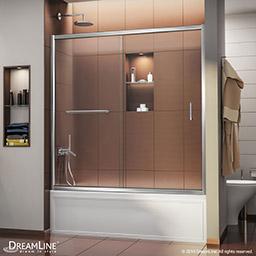 Dreamline Mirage 56 To 60 In Frameless Sliding Tub Door