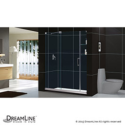 frameless kitchen cabinets dreamline mirage 56 to 60 in frameless sliding shower 1053