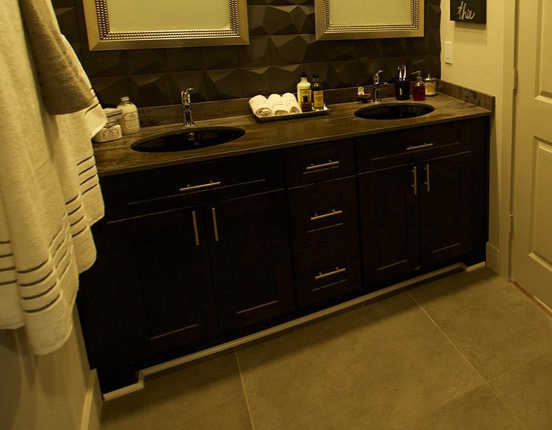 Espresso Shaker Bathroom Vanities Rta Cabinet Store