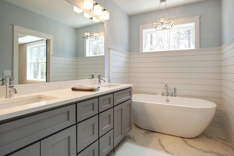 Florence Grey Shaker Bathroom Vanities