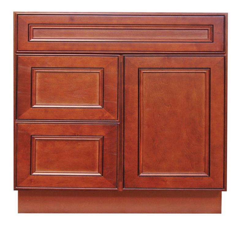 York cherry bathroom vanities rta cabinet store for Bathroom cabinets york