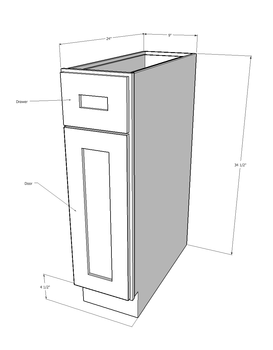York ave kitchen cabinets rta cabinet store for Base kitchen cabinets without drawers