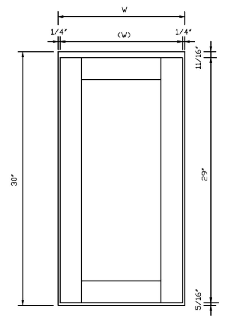 Shaker Cabinet Door Dimensions Maple Kitchen Cabinets Online Wholesale Ready To Assemble