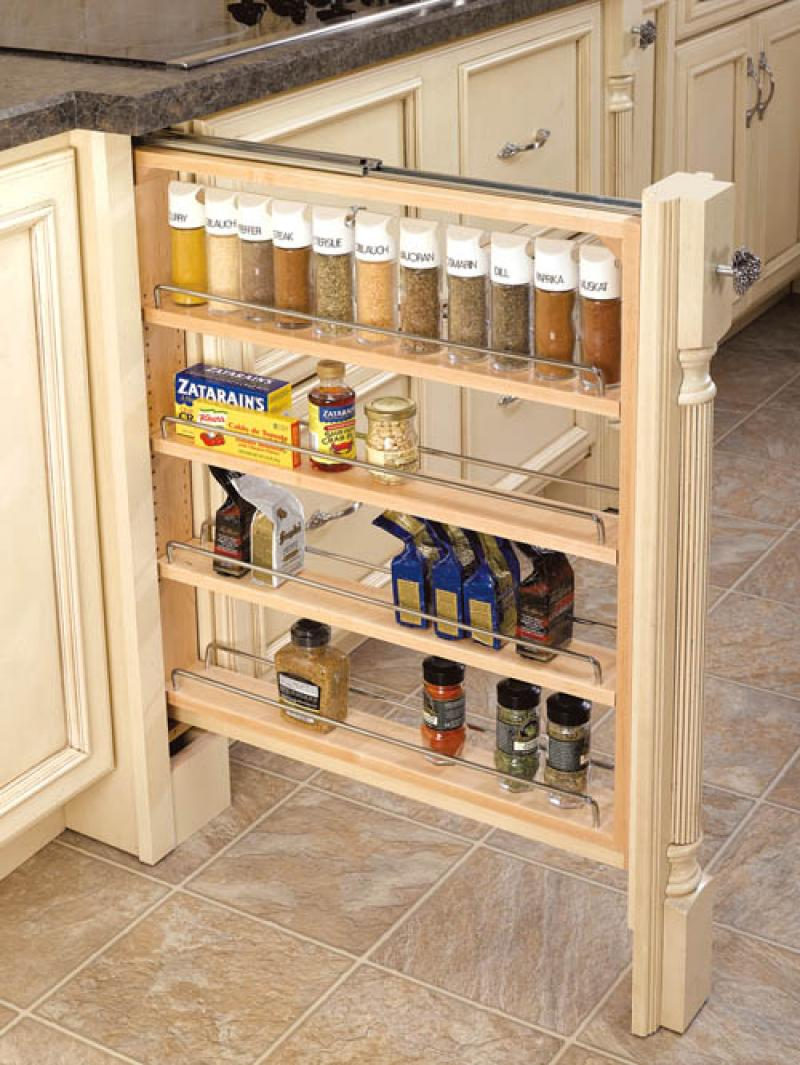 "3"" Filler Organizer with Shelves"
