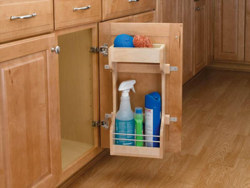 Under Sink Storage Shelving System