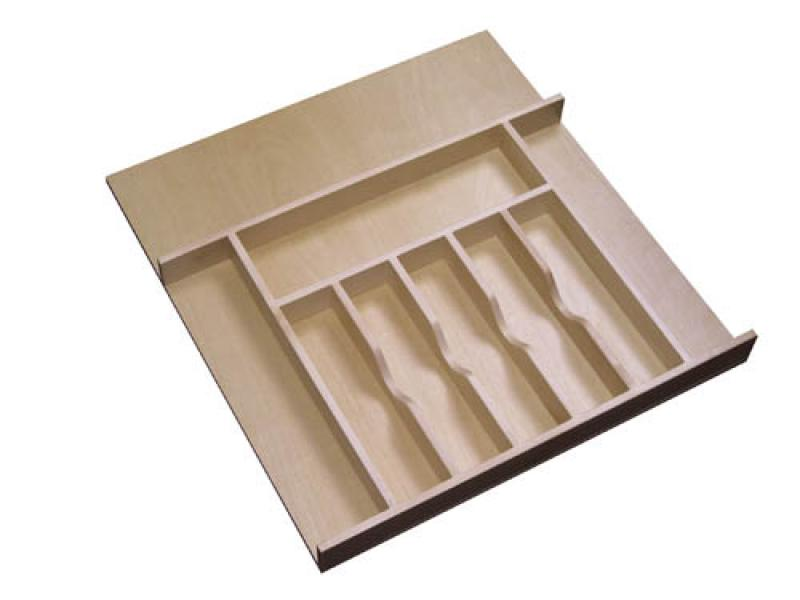Wood Cutlery Tray Insert (Large)