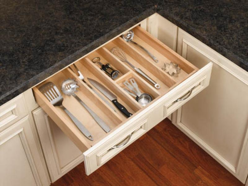 Wood Utility Tray Insert (Large)