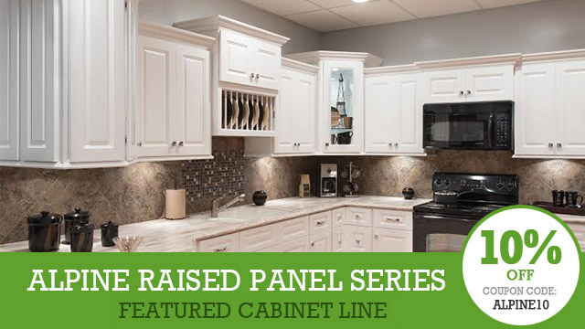 Alpine Raised Panel Featured Monthly Collection