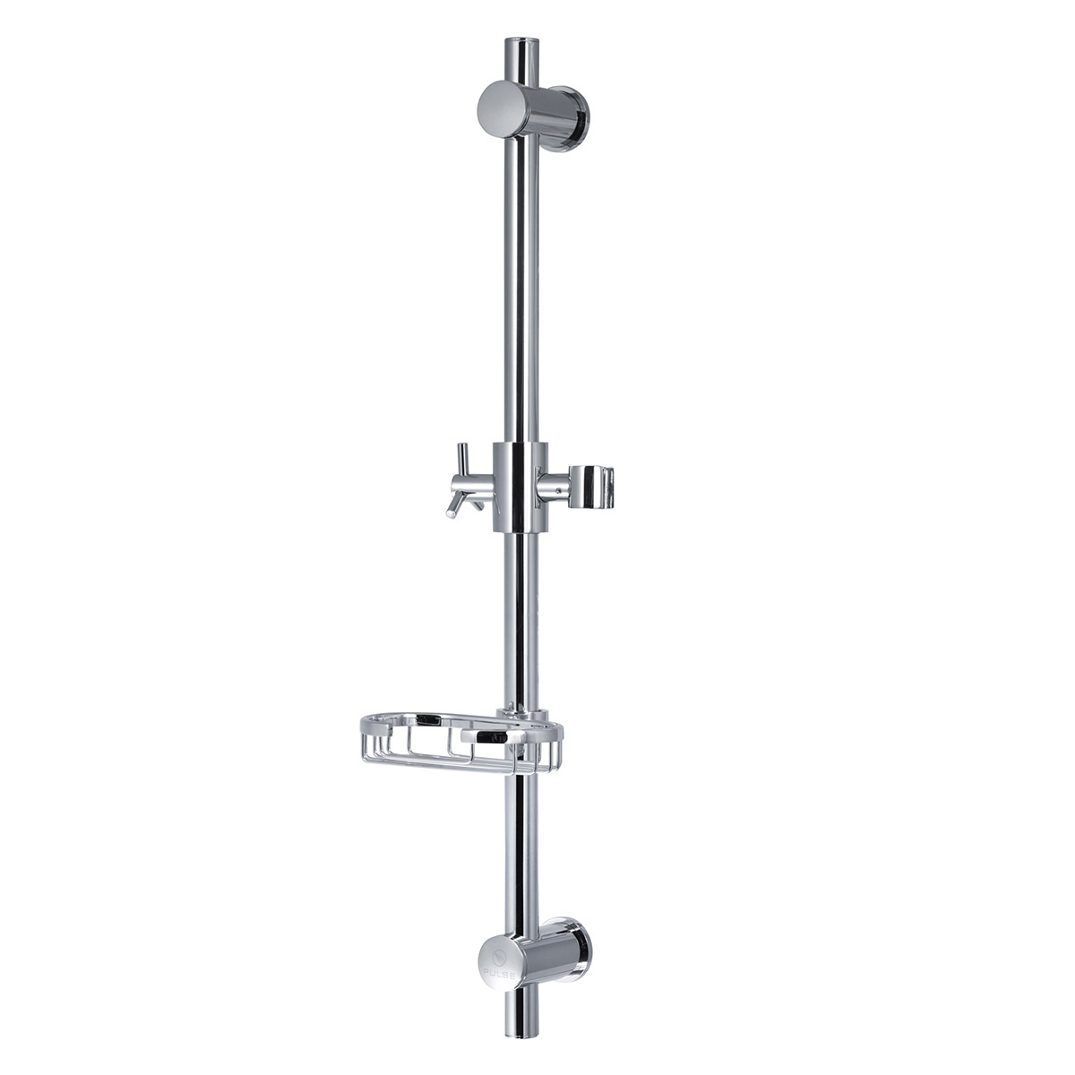PULSE ShowerSpas Chrome Adjustable Slide Bar ShowerSpa Shower Panel Accessory