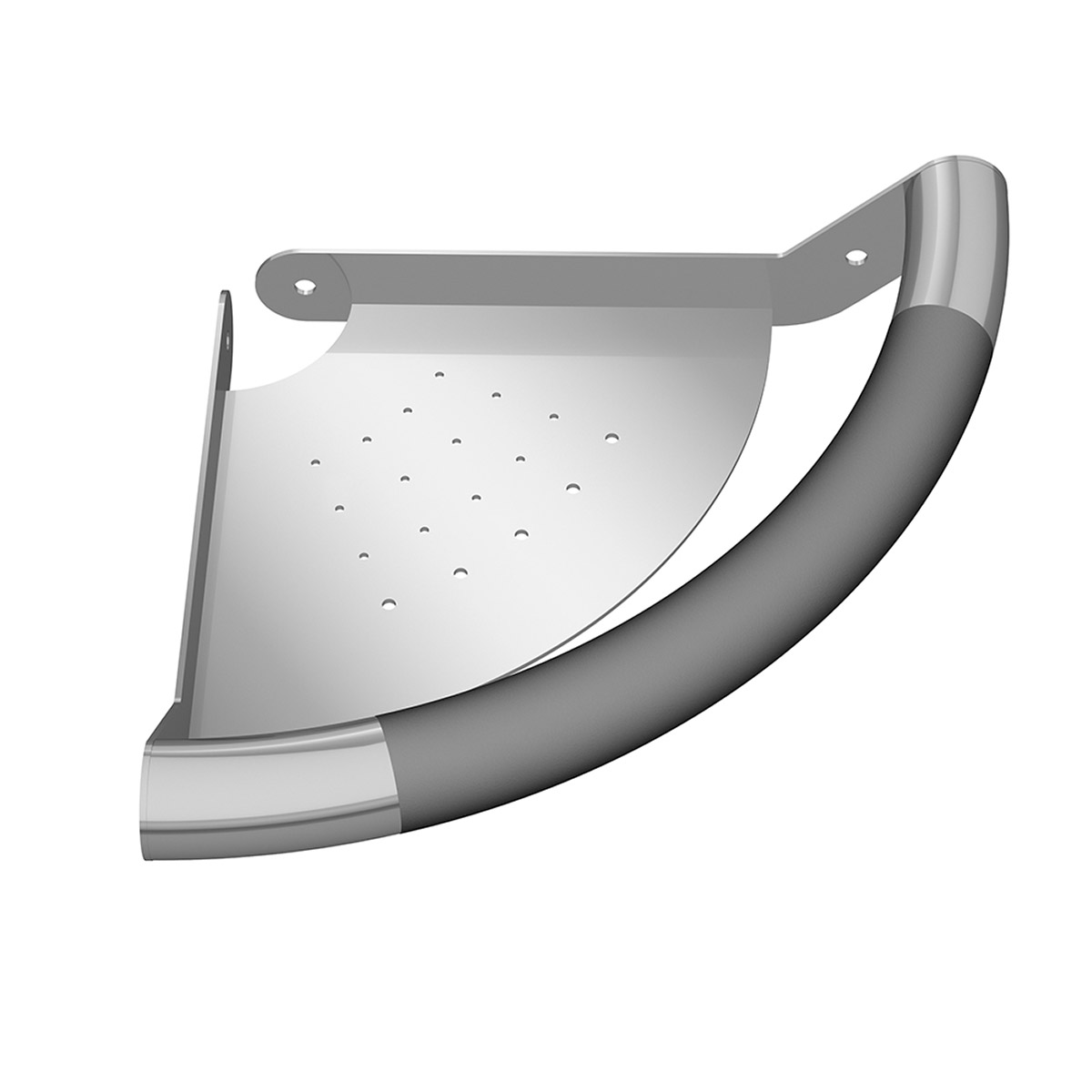 PULSE ShowerSpas ErgoCornerBar Stainless Steel Polished