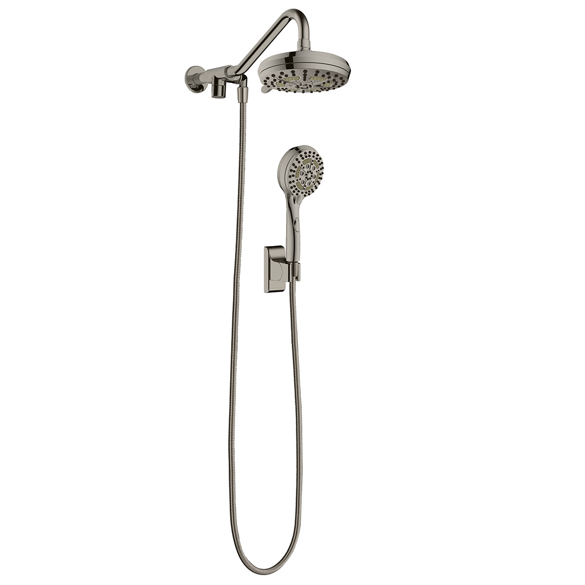 PULSE ShowerSpas Brushed-Nickel Shower System - Oasis Shower System