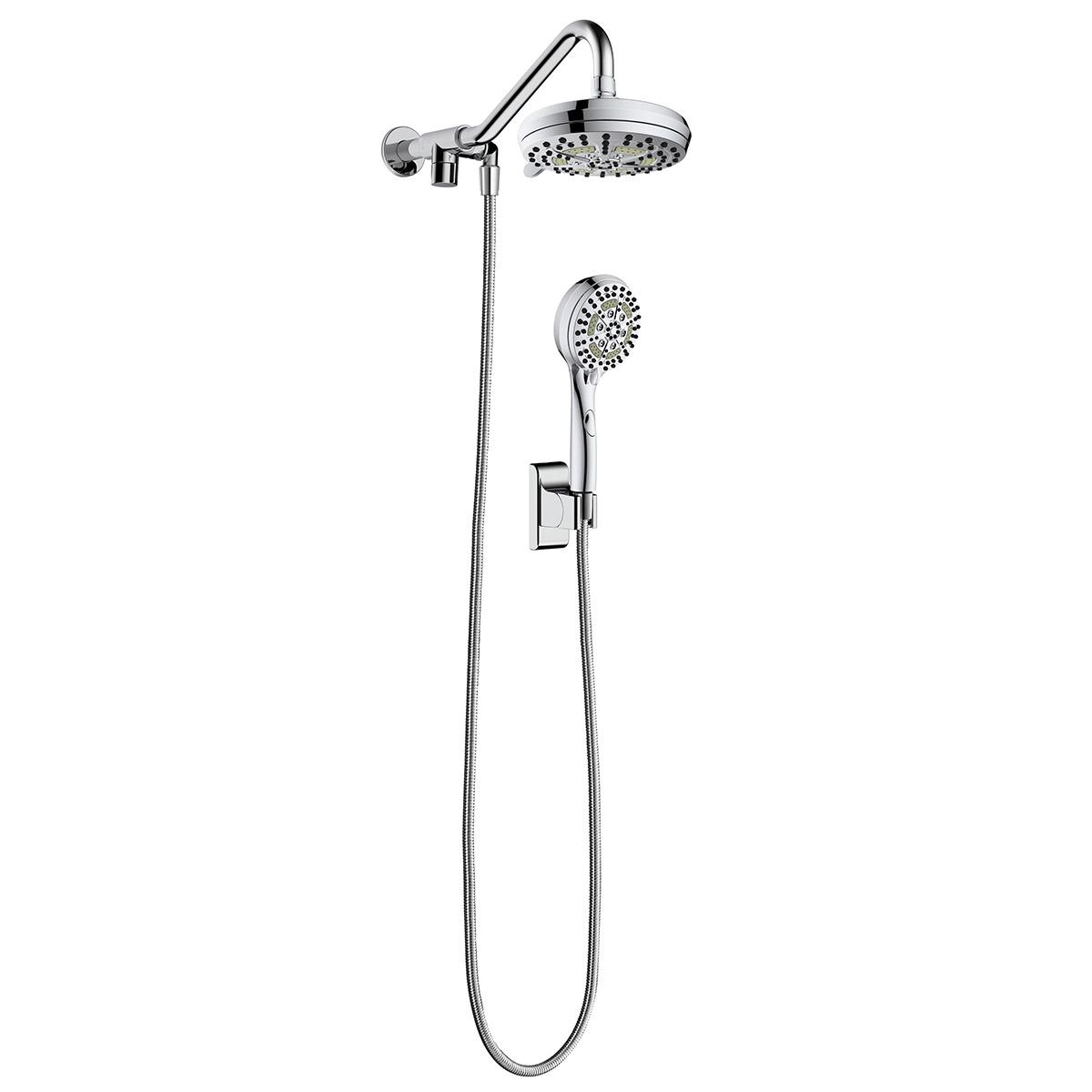 PULSE ShowerSpas Chrome Shower System - Oasis Shower System