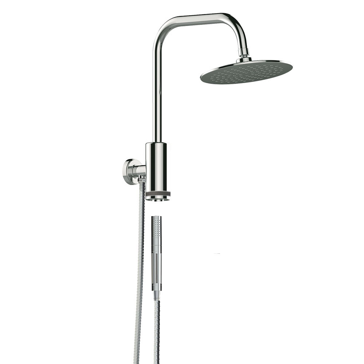 PULSE ShowerSpas Chrome Shower System - Aquarius Shower System