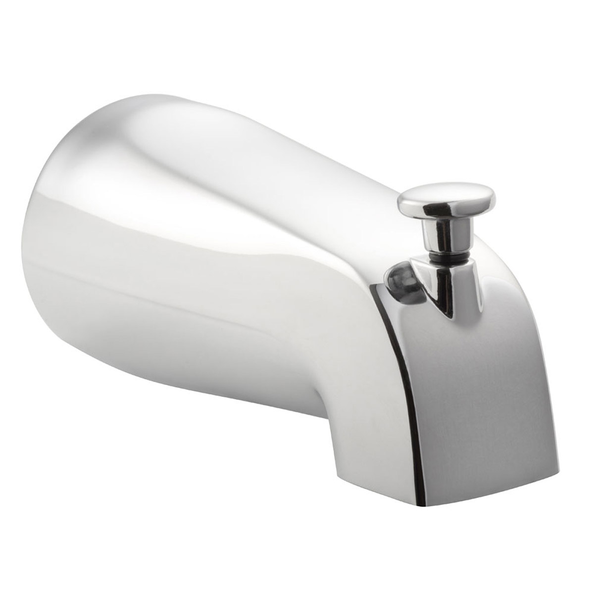 PULSE ShowerSpas Chrome Tub Spout with Diverter