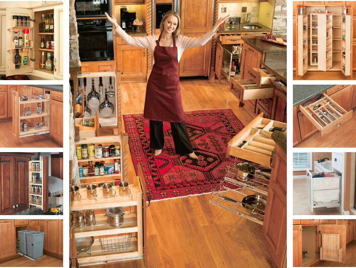 Rev-A-Shelf Kitchen Cabinet & Vanity Accessories