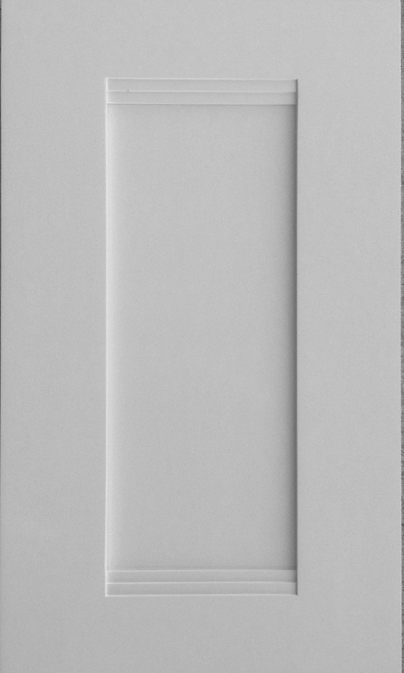 Light grey shaker ready to assemble kitchen cabinets - Sample Door Model Vanilla Shaker Sample