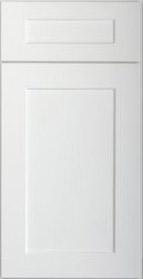 Elegant White Shaker Sample Door Rta Kitchen Cabinets