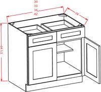 Tacoma White Kitchen Cabinets - RTA Cabinet Store