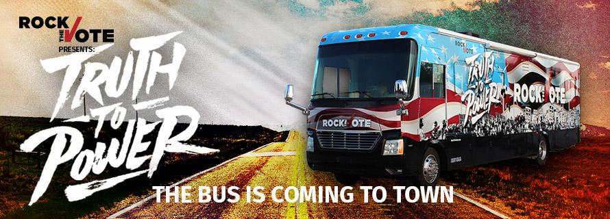 Rock the Vote Bus Tour