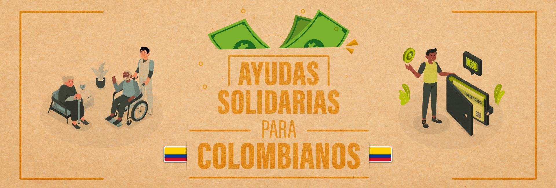 Ayudas solidarias para Colombia