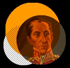 Llegada de Bolívar a Santa fé